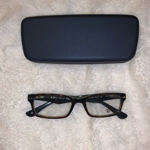 Ray-Ban Dark Brown Eyeglasses
